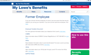 myloweslife and mylowesbenefits